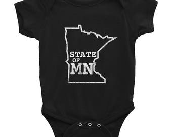 State of Minnesota - Home MN State Gift Baby/Infant Bodysuit
