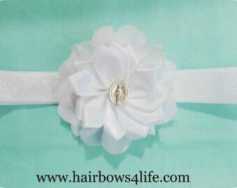 Tiny Flower Bow