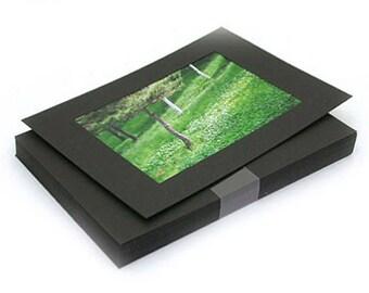 4 x 6 Photo Frames Refill / Black - 30 sheets (7.3 x 5.1in)
