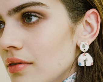 Mabel Terrazzo Earrings