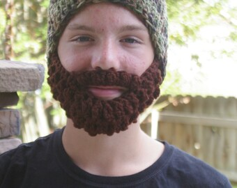 PreTeen ULTIMATE Bearded Beanie Camo