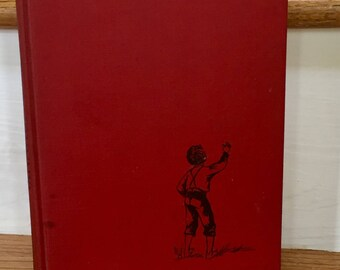My Brother Johnny by Evelyn Sickels,  Junior Fiction,  Red Binding,  Childrens Book,  1952, Childrens Literature,  Living in the South