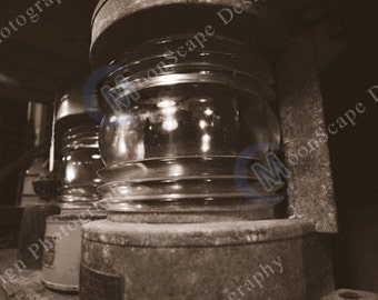 Nautical Collection - Hurrican Lanterns on a Shelf - Digital Image Download - Boat Stuff - Digital Licence Included