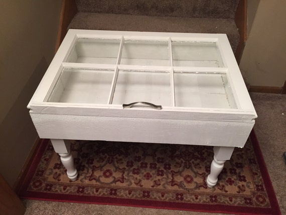 ON SALE 6 PANE shadow box end table shadow box end table
