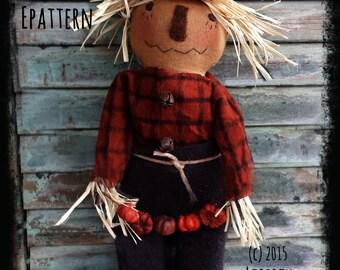 Primitive Scarecrow PATTERN Chadwick
