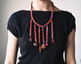 Elegant unique neckless, handmade beaded necklaces design collection
