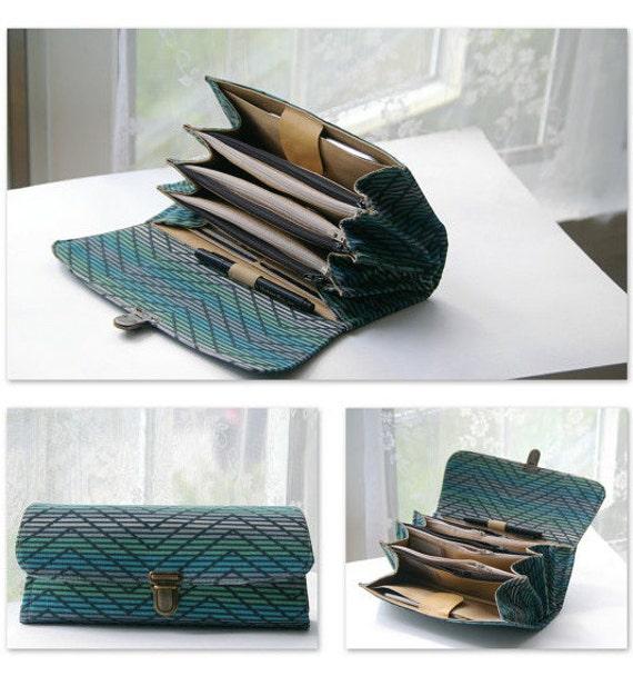 large envelope system wallet clutch cash envelope system