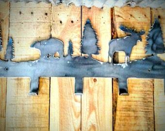 bear and moose coat hooks