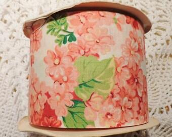 Vintage Floral Wide Ribbon