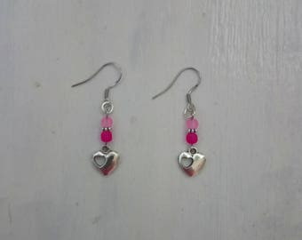 theme heart earring