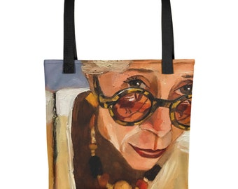 Looking for You Tote, Shopping Bag, Market Bag, Beach Bag, Book Tote, Book Lover Gift, Sunglasses Art, Wine Tote, Carry All, Art Tote