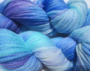 Puffy Little Clouds Chainette Bulky Superwash Merino Hand-dyed Yarn, 273 yards/100grams
