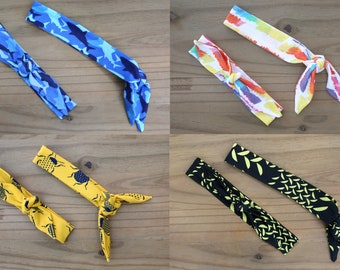 Fabric Headbands for Kids / Little Boy Headband / Bandana Headband / Top Knot, Summer Headbands, Toddler Headband, Baby Headband, BoyBandz