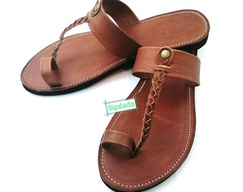Sandals, women's sandals, Slip on sandals, African sandals, Maasai sandals, Kenyan sandals, Leather sandals, gift for her