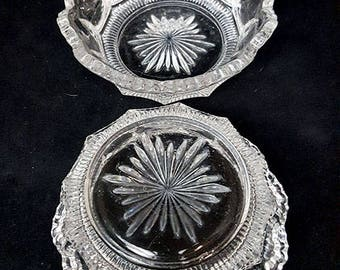 SALE...Pair of Small Scalloped Bowls