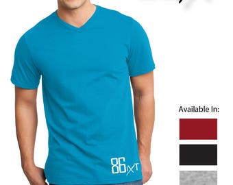 86ixt Men's V Neck T shirt