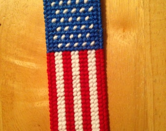 American, Flag, Bookmark, Red, White, Blue, Kids, Memorial Day, Patriotic, Book Lover Gift, Book, Mothers day, Gift for Her