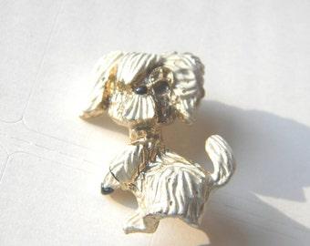 Cute Vintage Puppy Dog Pin