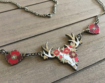 Red Poppies [Necklace]