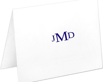 Monogrammed Stationery, Personalized Note Cards, Stationery Set, Christmas Gift, Thank You Cards, Stationary Set, Wedding Gift, Notecards