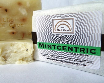 SOAP - MINTCENTRIC - Quality Made Soap Featuring Organic Oils & Shea Butter by Man Cave Soapworks