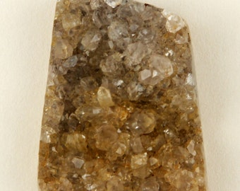 Herkimer Diamond Druzy Cabochon - 40mm X 28mm