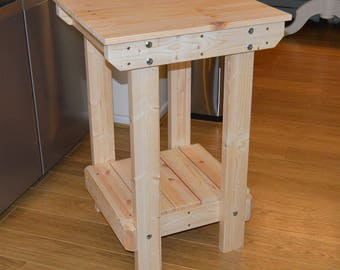 2FT Wooden Workbench    Handmade   VERY STRONG & STURDY   Next Day Delivery   Top Quality!