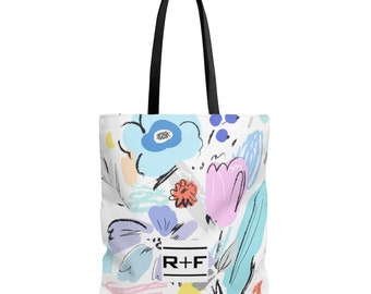 RF Blossom Tote Bag In 3 Sizes