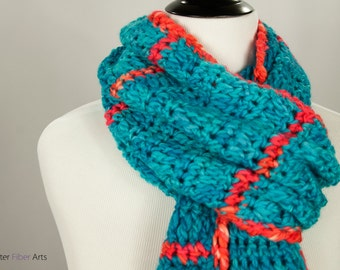 Electric Youth Crochet Wrap