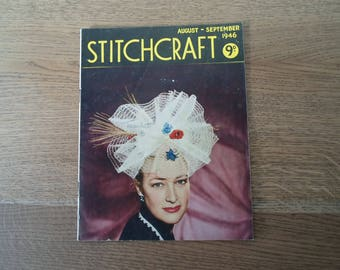 Stitchcraft Magazine August-September 1946
