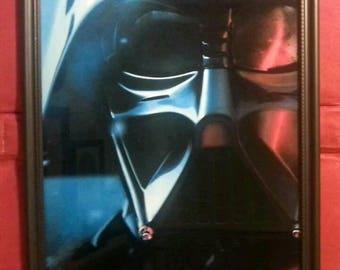Star Wars Darth Vader Sith Lord Framed Photo Art Print Sci Fi Gift Present