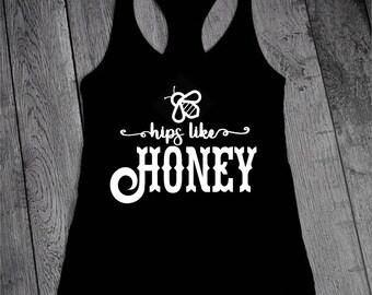 Hips like HONEY! fitness tank