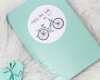 "Enjoy The Ride | Notebook | 5.75"" x 8.25"""