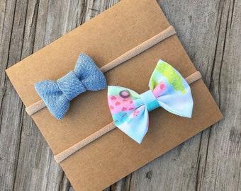 Bow headband set , baby headbands, baby bows , bows