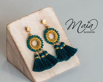 Boho Tassel Long Earrings