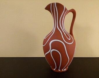 Special West Germany Mid Century Ewer Vase 4831 18