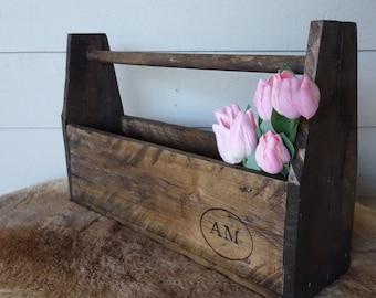 Rustic Wooden Toolbox
