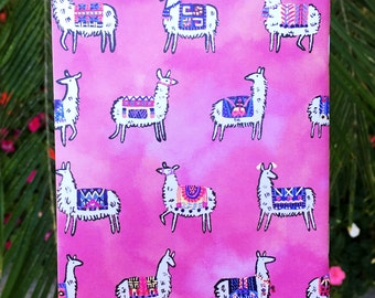 Llama Pocket Notebook