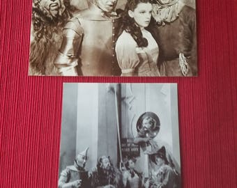 Vintage Wizard of Oz - Two Postcards