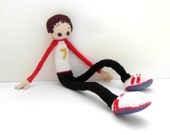 Crochet Doll Pattern - Dani, Cute Amigurumi Boy, Crochet Pattern, Amigurumi, Amigurumi Pattern