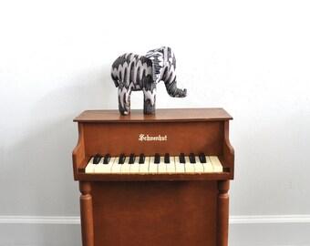 Vintage Stuffed Toy Elephant