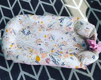 DockATot Covers Deluxe, + , Grand COVER Only- Floral, Aztec, Feather, Arrow, Teepee -Multiple Fabric Options-100% cotton-Made in USA