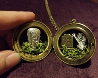 Uprising Zombie locket