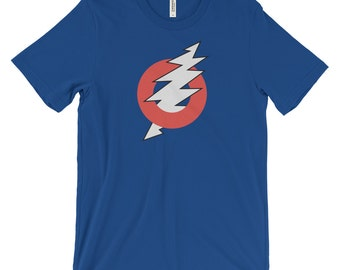 Phish Shirt, Grateful Dead Shirt, Fishman Donut, Steal Your Face, Lightning Bolt, Fishman Donut Shirt, Festival Clothing