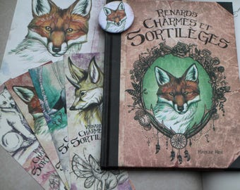 """fantasy book """"foxes, charms and spells"""""""