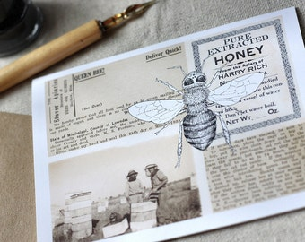 Beekeeper Note Cards