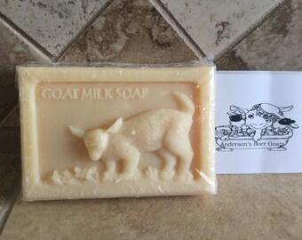 Goat Milk Soap 1 Bar Oatmeal Cinnamon