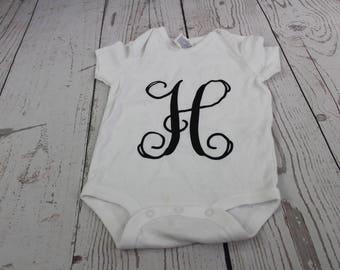 Personalized Infant/Toddler White Bodysuit