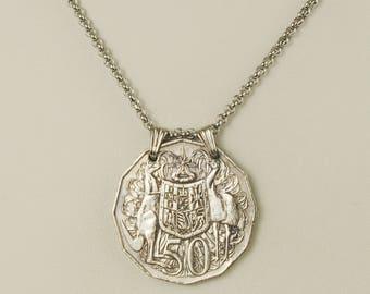 Australia Coin Necklace 2009