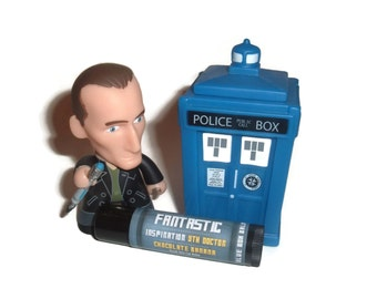 "The Ninth Doctor ""Fantastic"" Doctor Who Inspired Lip Balm - Banana & Chocolate Flavor Geek Stix"